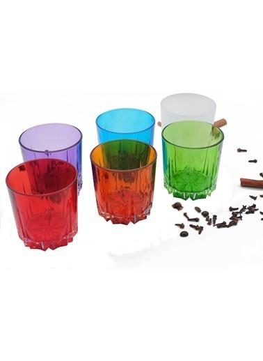 Paşabahçe PaşabahÇe Renkli UK Collection Su / Meşrubat Bardağı Renkli